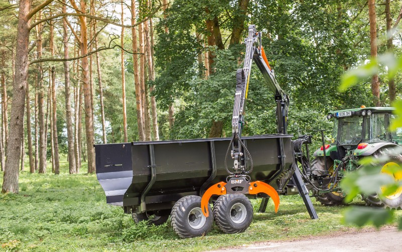 BMF Forestry Crane 650 Logging Equipment for Sale in United